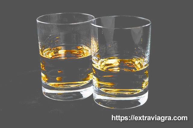 whiskey and alcoholic impotence