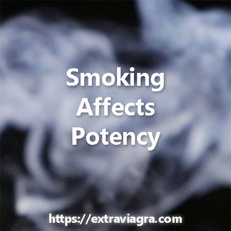 Smoking affects potency
